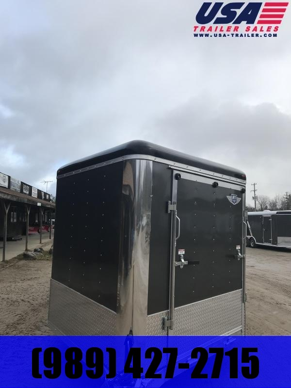 2019 MTI Trailers 8.5x25  Combo Snowmobile Trailer