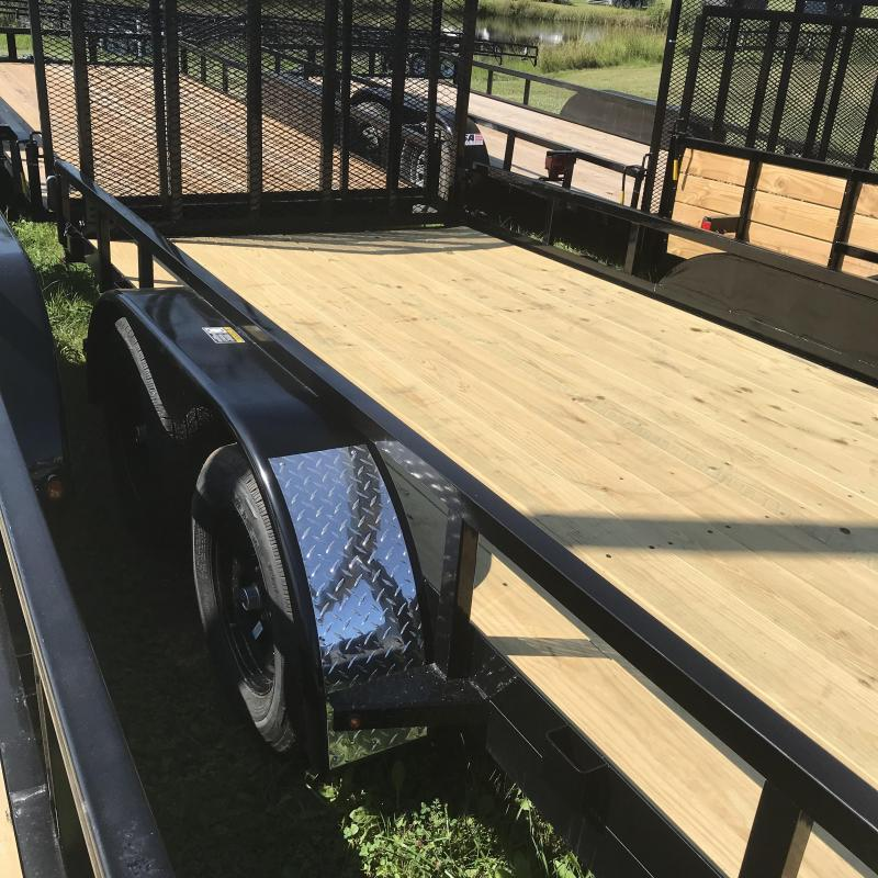 2019 H and H Trailer H8218TRS-070 Utility Trailer