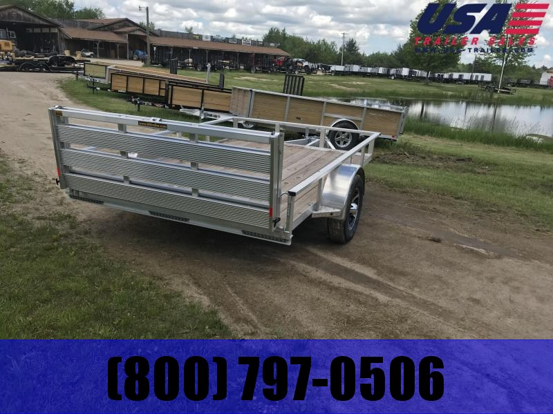 2019 H and H Aluminum Utility Trailer
