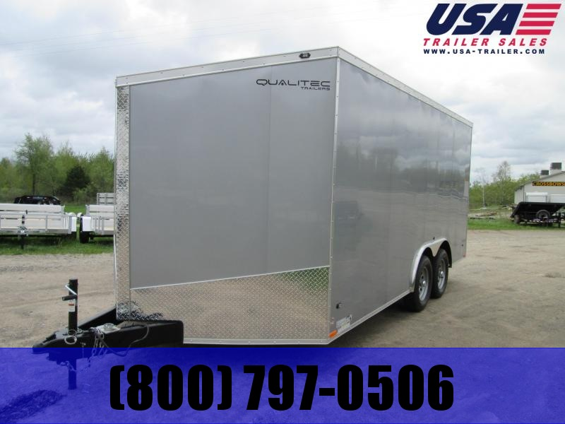 2019 Qualitec 8.5x20 Enclosed Cargo Trailer