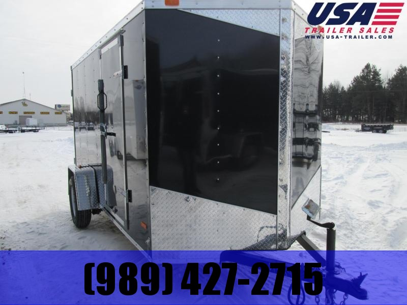 2018 MTI Trailers 5x10 Black Ramp Enclosed Cargo Trailer