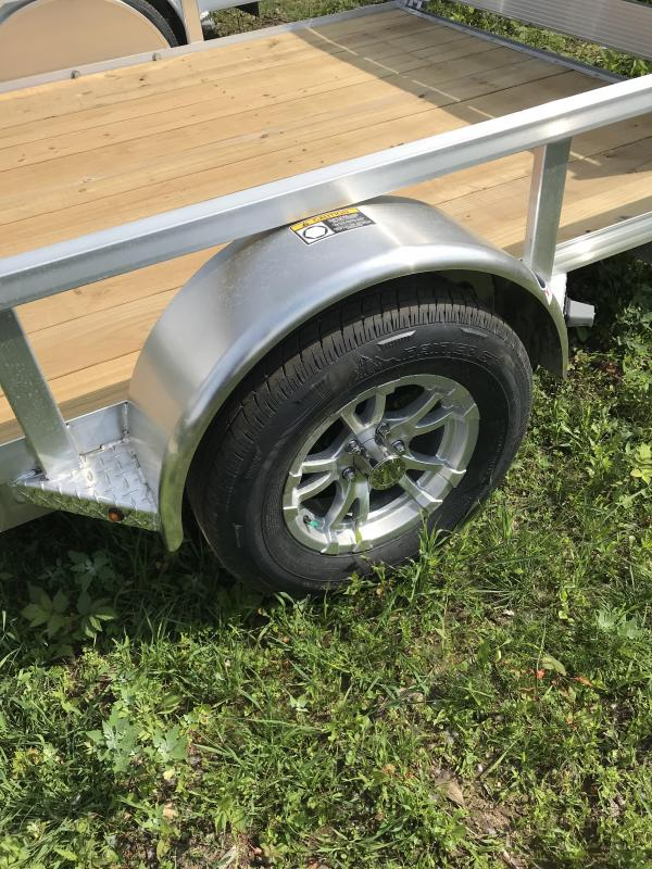 2019 H and H Trailer 82 x 12 Aluminum Utility Trailer