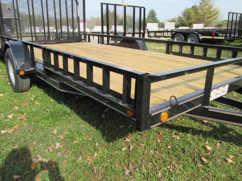 2018 Load Trail SE 14 Side Ramp Utility Trailer