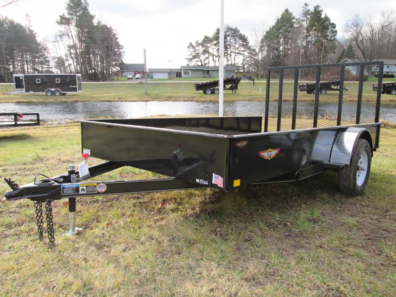 2019 H and H Trailer 82 x 12 Utility Trailer