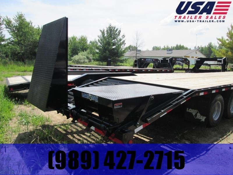 "2019 Load Trail 102"" X 25' Tandem Gooseneck Equipment Trailer"