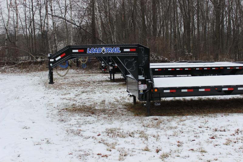 New 32' 22k Gooseneck Equipment Trailer Michigan's #1 Selling Brand