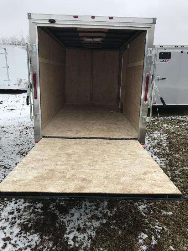 2019 MTI Trailers 6x12 Ramp Enclosed Cargo Trailer