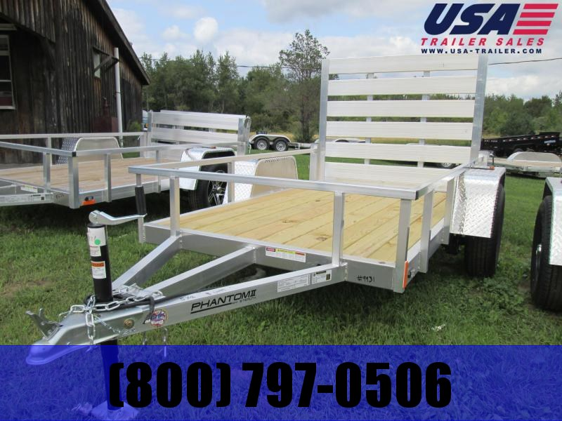 2018 Stealth Trailers Aluminum Utility Trailer