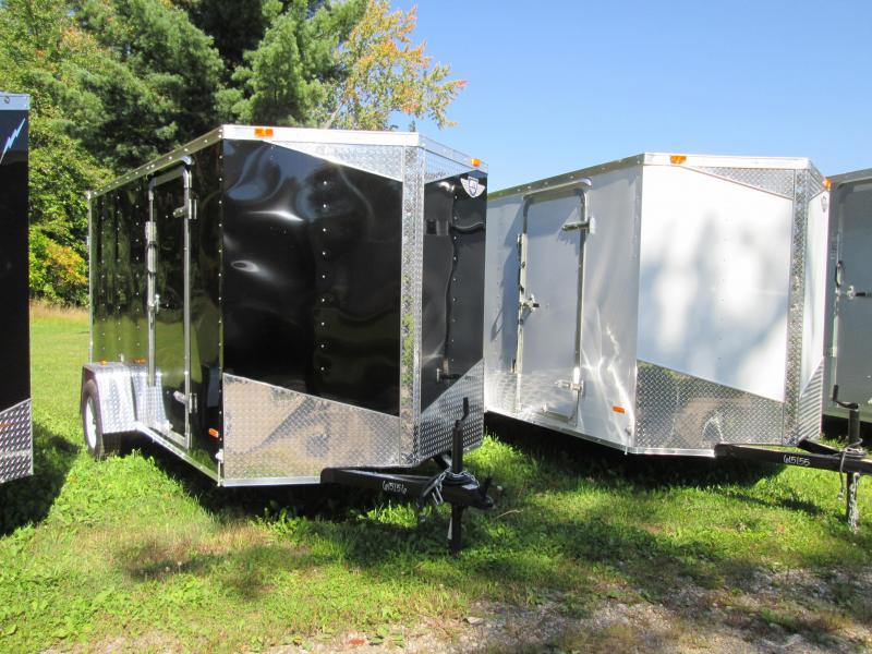 2019 MTI Trailers 7x16 Black Barn Enclosed Cargo Trailer