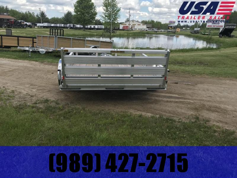 2019 H and H Trailer 82x12 Alum Landscape Bifold Utility Trailer