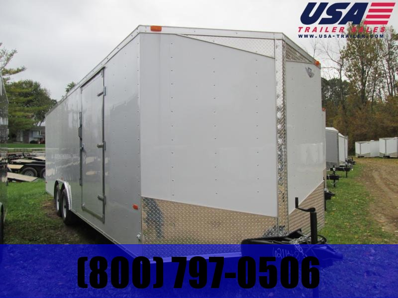 2019 Qualitec 8.5 X 24 10K Enclosed Cargo Trailer