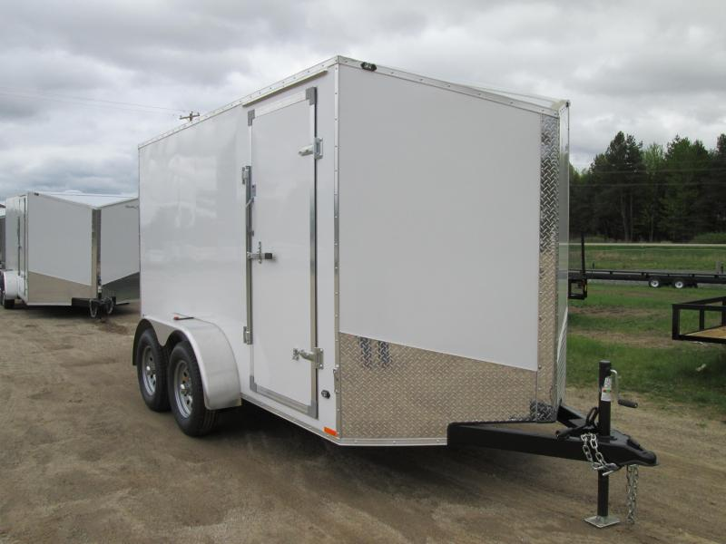 2019 Qualitec 7x14 Enclosed Cargo Trailer