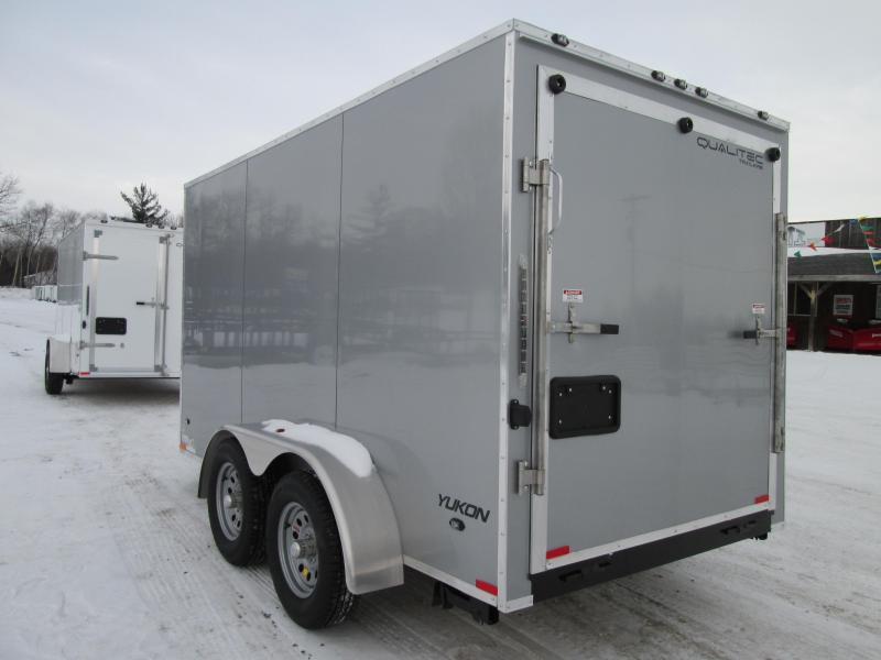 2019 Qualitec 7x14 Silver Ramp With added 12 ht Enclosed Cargo Trailer