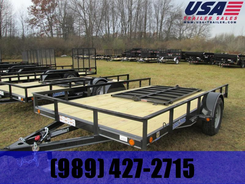 "2018 Load Trail 83x12 4"" channel Utility Trailer"