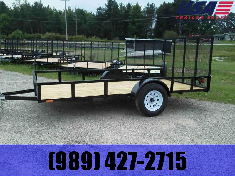 2019 AMO 6x12 Low Side Utility Trailer