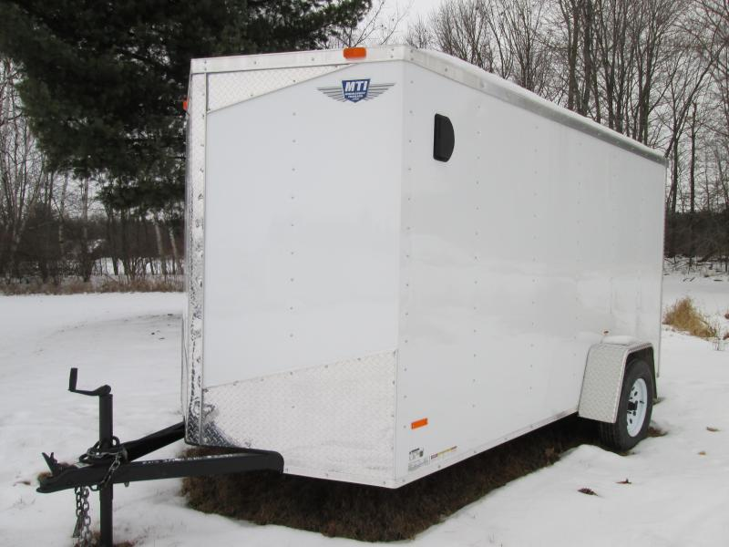 2020 MTI Trailers MWT 6X12SA Enclosed Cargo Trailer