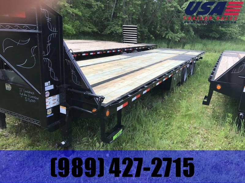 2019 Load Trail 32 Goose Hyd. Dove 22K Equipment Trailer
