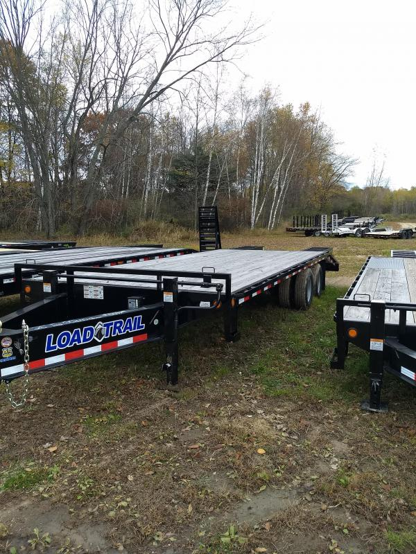 New 25' 22k Equipment Trailer Michigan's #1 Selling Brand