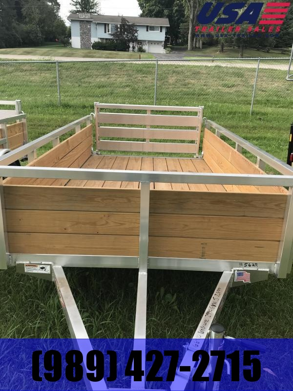 2019 H and H Trailer Aluminum 5.5x10 WOODSIDE Landscape