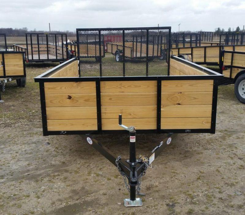 6 x 10 A.M.O. High Side Landscape Trailer