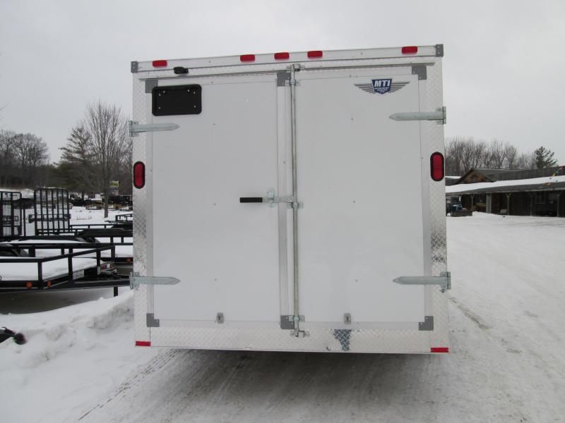 2019 MTI Trailers 6x12 white Enclosed Cargo Trailer