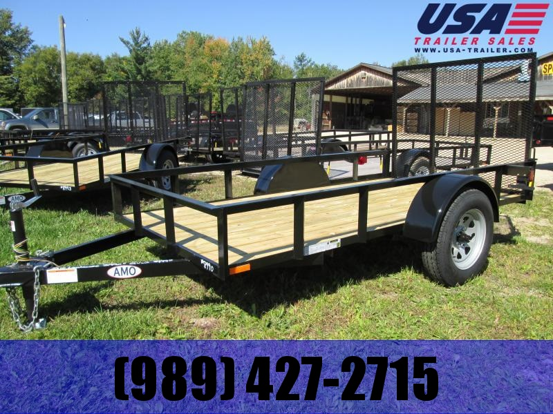 2019 AMO 5x10 Low Side Utility Trailer