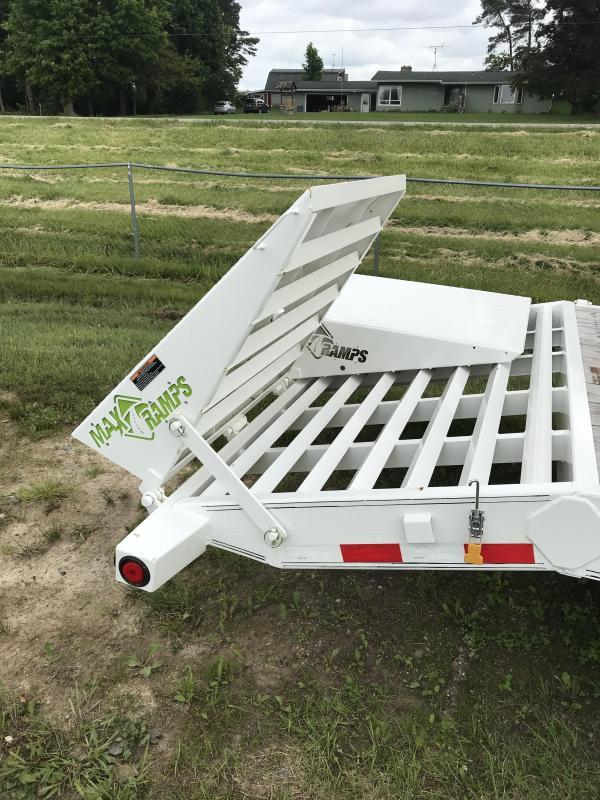 2018 Load Trail CH 24 14K Equipment Trailer