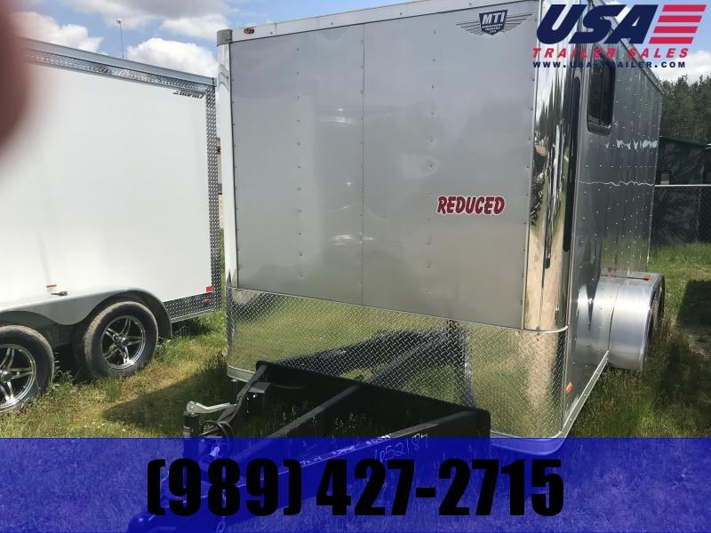 2019 MTI Trailers MTB7X14TA2 Enclosed Cargo Trailer