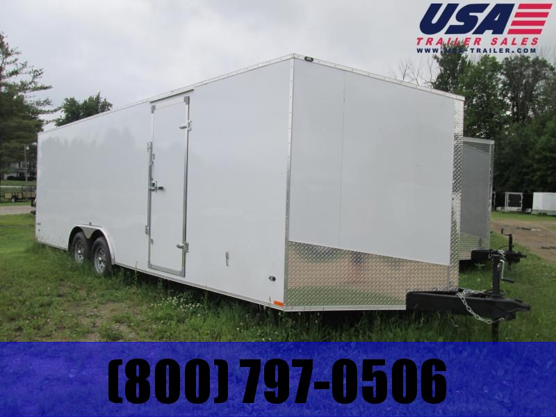 2019 Qualitec 8.5 x 16 Enclosed Cargo Trailer