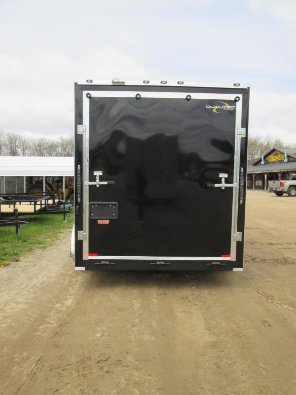 2018 Qualitec 7x14 with 12 added ht Enclosed Cargo Trailer