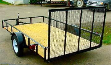 14ft Landscape Trailer