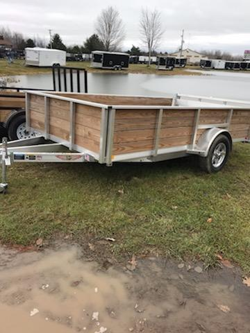 2019 H and H Trailer 82x10 Alum Landscape Utility Trailer