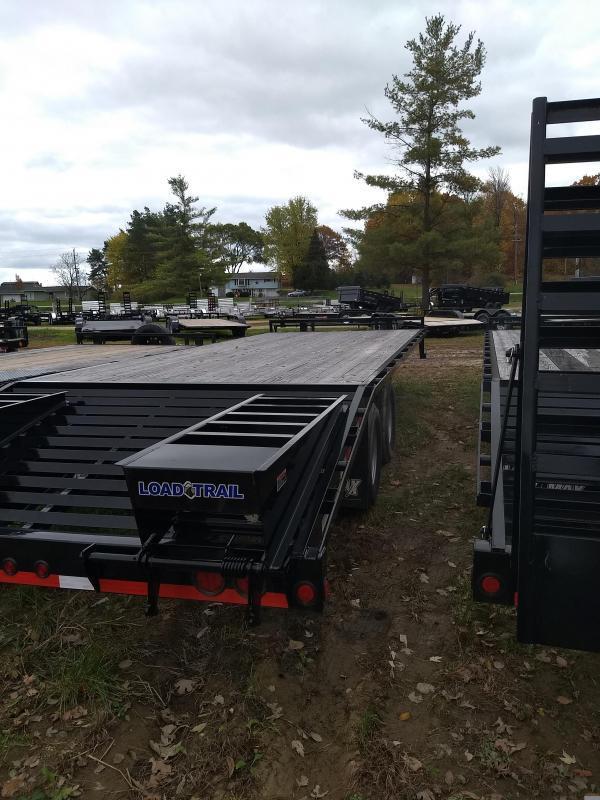 New 25' 22k Equipment Trailer Michigan's #1 Selling Brand