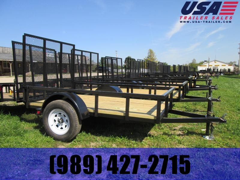 2018 Gold Star 5x8 Low Side Utility Trailer