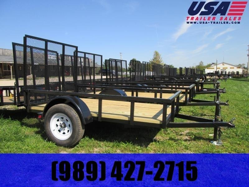 2019 Gold Star 5x8 Low Side Utility Trailer