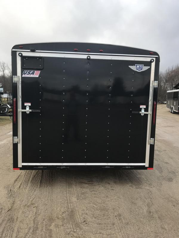 2019 MTI Trailers 8.5X25 Combo Car / Racing Trailer