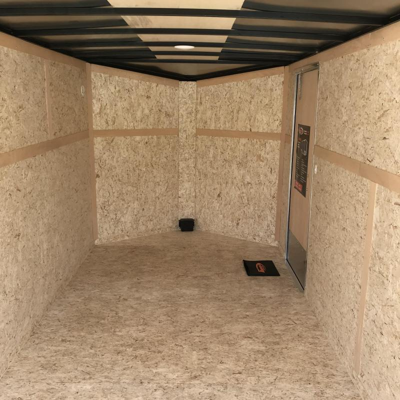 2020 Formula Trailers 7X16 RAMP Black Enclosed Cargo Trailer