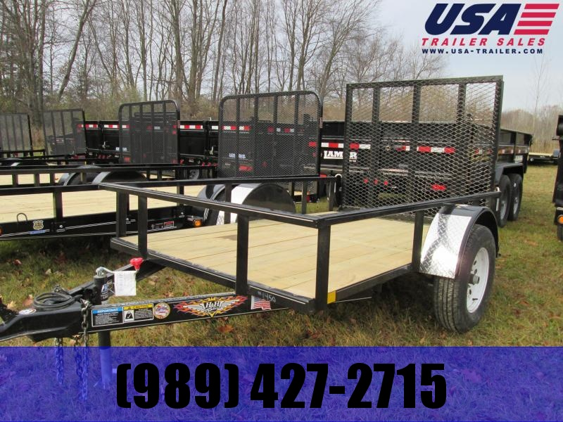 2019 H and H Trailer 5x8 Low Side Utility Trailer