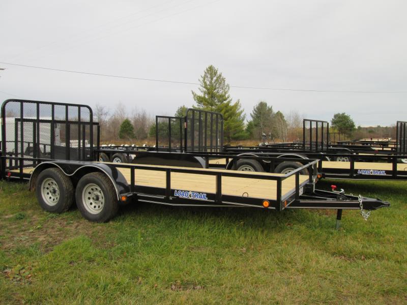 "2018 Load Trail 83"" X 16' Tandem Axle Utility Utility Trailer"