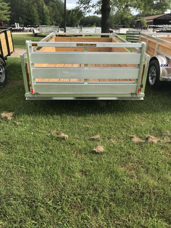 2020 H and H Trailer Aluminum 5.5x10 WOODSIDE Landscape