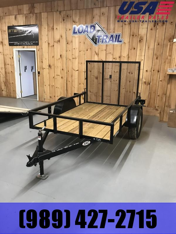 2018 American Manufacturing Operations (AMO) 5x8 Low side Utility Trailer