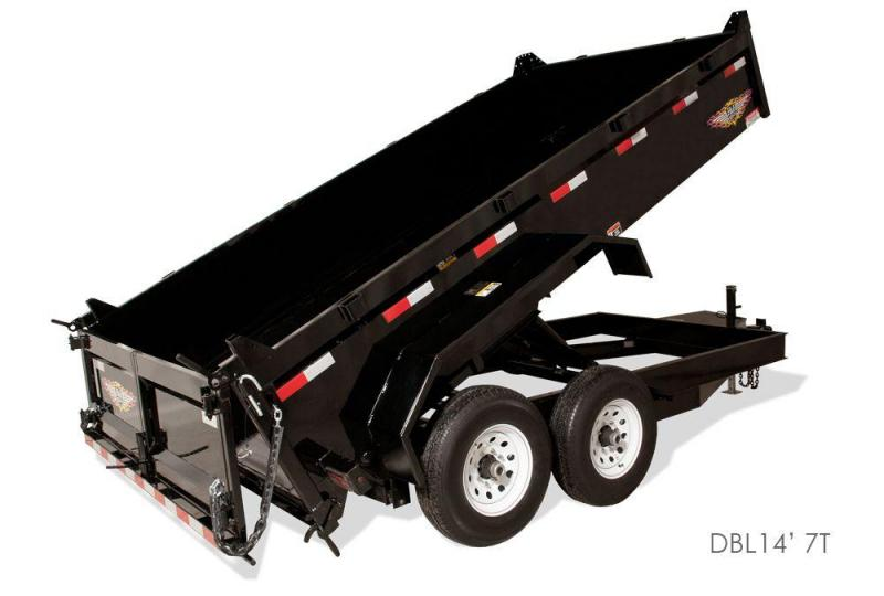 2018 H and H Trailer 1275907 Dump Trailer
