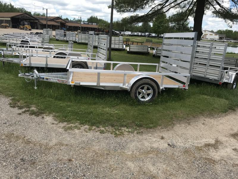 2019 H and H Trailer Aluminum Utility Trailer