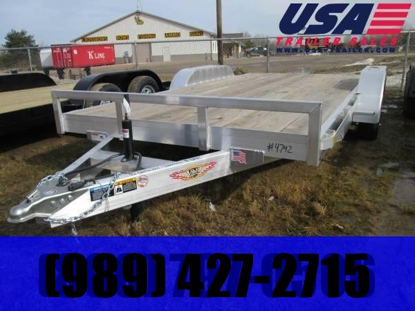 2019 H and H Trailer Aluminum Car / Racing Trailer