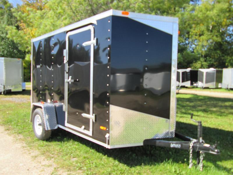 2019 MTI Trailers 5x8 Black Enclosed Cargo Trailer
