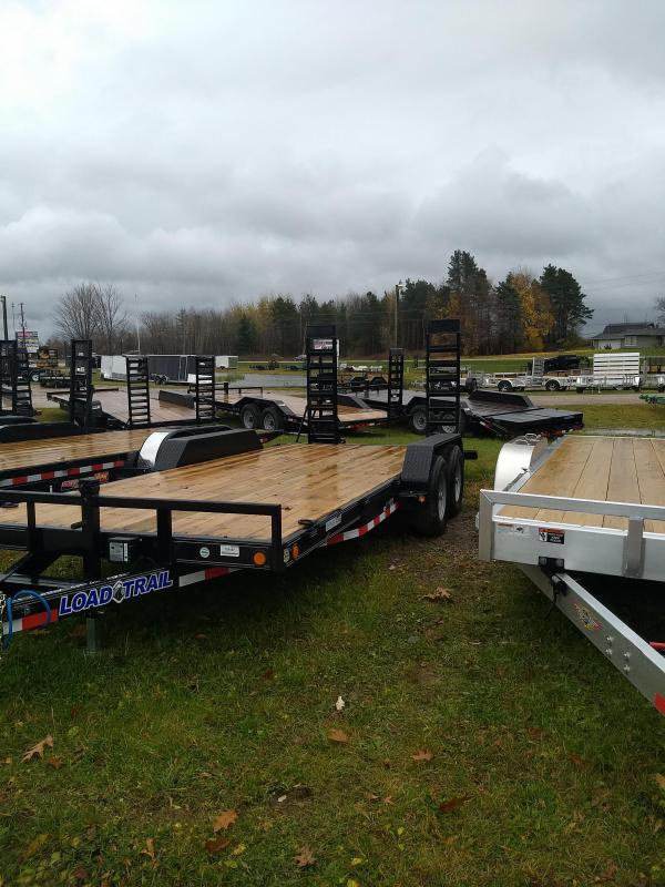 18' Load Trail 10K Equipment Trailer The Bench Mark Of Quality