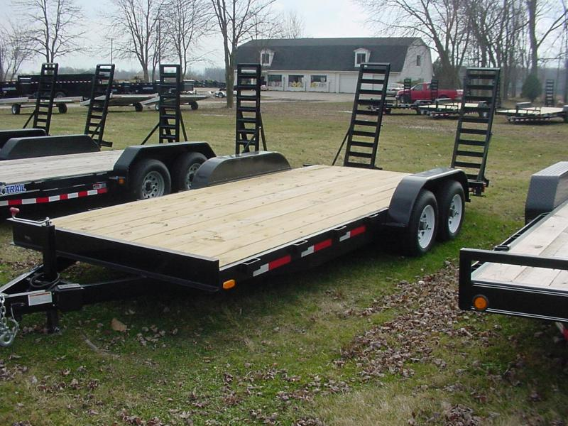 2018 Load Trail 6542 Equipment Trailer