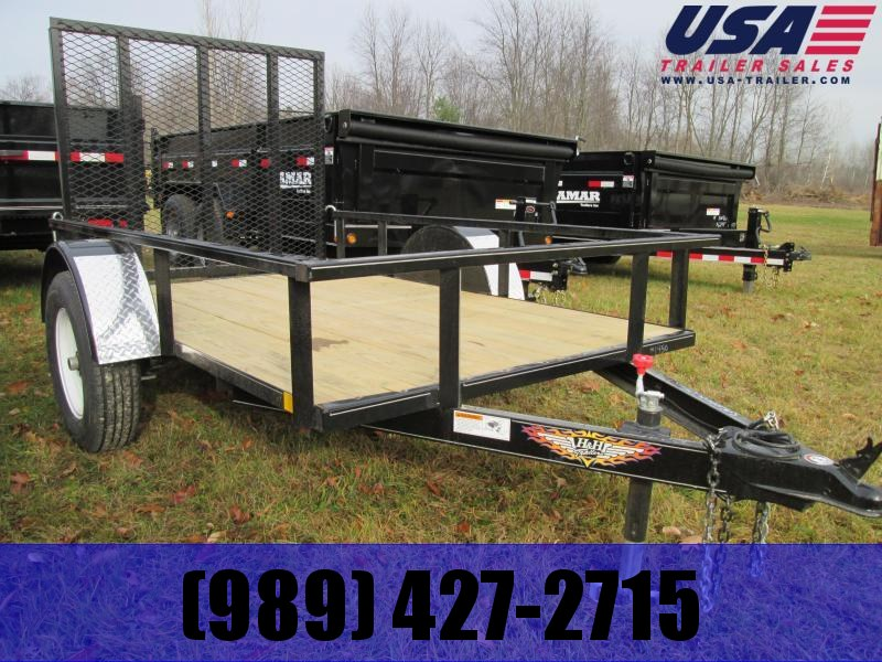 2018 H and H Trailer 56 x 10' low side Utility Trailer