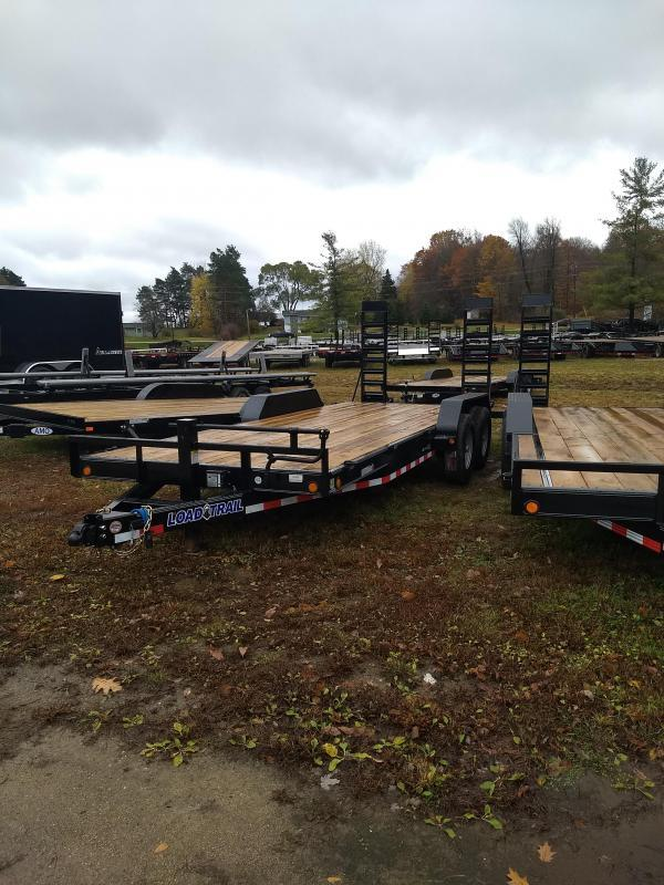 New 20' 14k Load Trail Equipment Trailer Michigan's #1 Selling Brand Of Trailer