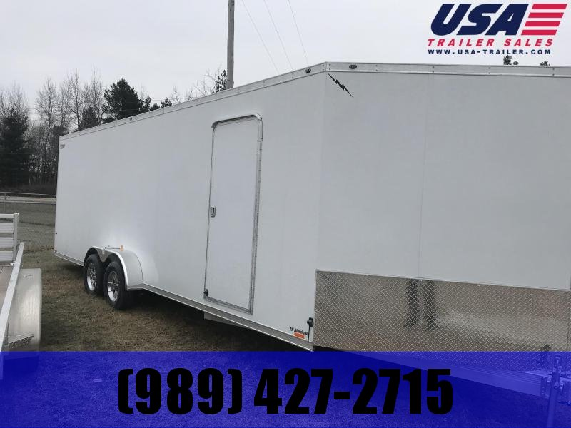 2019 Lightning Trailers 7 x 29 Snowmobile  Trailer